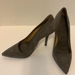 Lucchese suede pumps